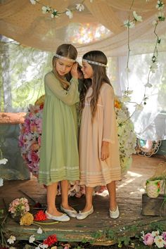 @ilovegorgeous Forget-Me-Not Dress #flowergirls #specialoccasion #wedding #inspiration #vintage #pretty #brides