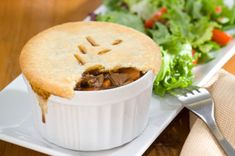 If your go-to is one of our chicken pot pies, it's time to try something different.  Go with our Steak