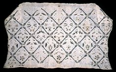 Coif dated to late 16th or early 17th century. Cooper Hewitt, Smithsonian