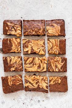 Looking for a sweet and healthy dessert recipe? Try this Peanut Butter Banana Brownies recipe. They're healthy vegan brownies that don't taste healthy at all, plus they're a great way to use up ripe bananas. #vegandesserts #healthydesserts #vegan #veganrecipes #brownies #bananabrownies #peanutbutterbrownies #veganbrownies
