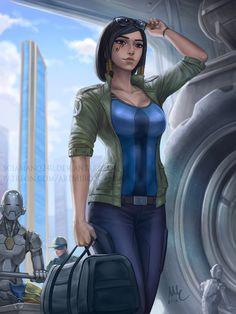 Pharah - Overwatch's Return | Sciamano240 on DeviantArt
