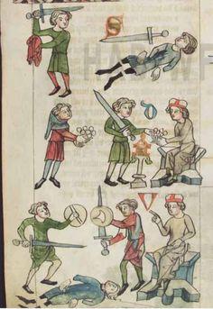 German manuscript (exact location unknown),1350-1375.