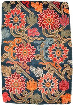Tibetan rug love the colours
