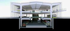 Public transport hub. Spectro - Arquitetura e Engenharia