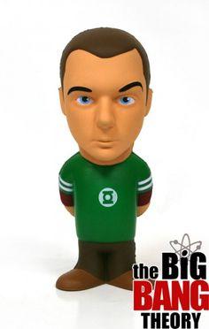 Sheldon cooper - figura antiestres 14 cm #TBBT #AkibaClub
