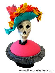 Catrina Day of the Dead Cupcake