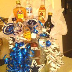 21st Birthday Liquor Gift Basket Vodka Tequila Zebra