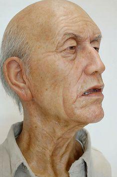 Hyper-realistic sculptures by Sam Jinks - Yes, as in not a painting...not a photo... http://samjinks.com/ (caution - you may find some images on this website disturbing or unsuitable for younger viewers)