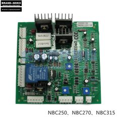 72.99$  Watch now - http://aic3n.worlditems.win/all/product.php?id=32610497389 - 270 350 tapped NBC250 co2 protection welding machine main control board circuit board