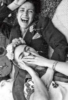 maudelynn:Frida Kahlo and Chavela Vargas, c.1950viaMusetouch Visual Arts Magazine