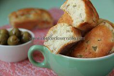 (WIN! WIN! WIN!) PÃEZINHOS DE AZEITONAS - SEM GLÚTEN E SEM LACTOSE - www.chefcarlaserrano.com - Fáceis, macios, uma textura que lembra levemente pão de queijo, sensacionais! :)