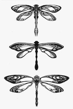 Dragonflies_by_Pangea_Derlatek.jpg (986×1472)