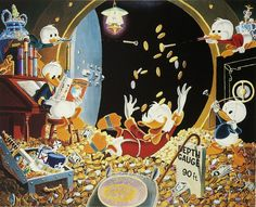 Carl Barks - Time Out For Fun (2142х1737)