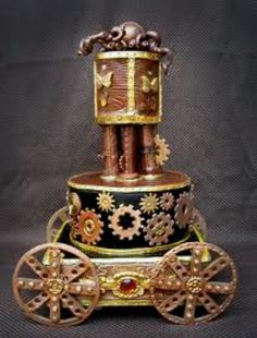 Awesome steampunk cake