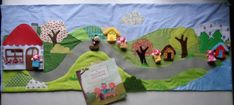 Silent Book, Picnic Blanket, Outdoor Blanket, Montessori, Kids Rugs, Books, Projects, Diy, Libraries