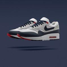 vans era tain noir - Nike 2013 AIR MAX1 OG Mens Vintage Sail Red Retro Running Shoes ...