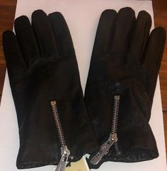 4b9f44606 michael kors Black leather gloves Size XL #fashion #clothing #shoes  #accessories #womensaccessories #glovesmittens (ebay link)