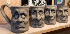 More Face Mugs- WIP by thebigduluth.deviantart.com on @DeviantArt