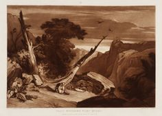 Joseph Mallord William Turner, 'From Spenser's Fairy Queen, engraved by Thomas Hodgetts' 1811