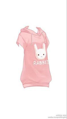 """Hawaii short sleeve """"Rabbit"""" Print Sweatshirt"""