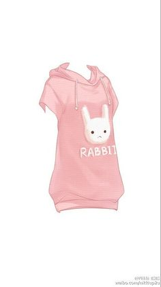 "Hawaii short sleeve ""Rabbit"" Print Sweatshirt"