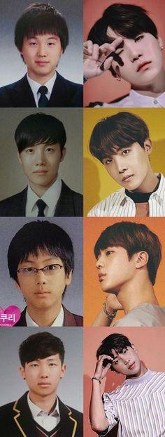 Hyung line Suga Hoseok Jin RapMon BTS