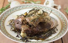 Slow Roasted Leg of Lamb | Slim Palate