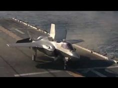 F- 35 Operations Aboard USS Wasp (LHD-1)