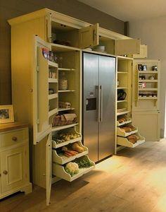 Genius food pantry.