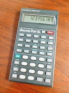 Calculated Industries Real Estate Master Qualifier Plus IIx Calculator 3125.v2.0