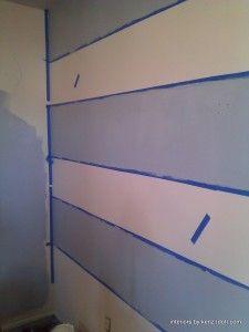 Paint Horizontal Stripe Around Room