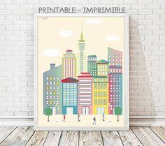 laminas, laminas decorativas, Manhattan, Nueva York, ciudades, laminas decoracion, cuadros, laminas imprimibles, viajes, poster Nueva York