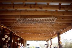 Rustic Barn Wedding*Angela Marie Events*Baton Rouge, LA #branchdecor #barnwedding