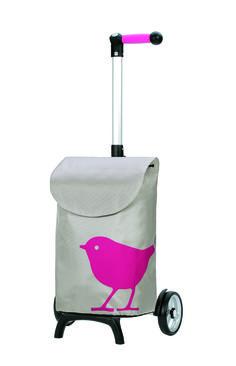 Andersen Shopper Manufaktur Unus Shopper Fun Bird Einkaufstrolley | 121-102 / EAN:4055278022533