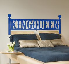 Living together with your hubby?  Decorate your room in a creative and romantic way! #tenstickers #tenvinilo #sticker #wallsticker #king #queen #bed #room #home #house #decor #decoration #love #romantic #DIY