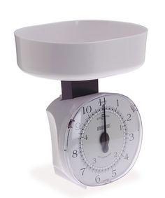 Look what I found on #zulily! White Kitchen Scale by Progressive #zulilyfinds
