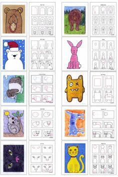 Draw Animals diagram More