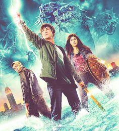 This is epic! Percy Jackson Movie, Percy Jackson Fandom, Percy And Annabeth, Annabeth Chase, Alexandra Daddario, Sea Of Monsters, Daughter Of Poseidon, Logan Lerman, 2 Movie