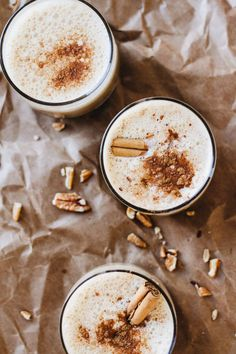 coffee drink recipes Link is part of Coffee Drinks Recipes Allrecipes Com - Delicious Maple Pecan Pie Latte (Cold Coffee Drink) that's dairyfree and amazing! This post is sponsored by Folgers and Jar Of Lemons Cold Coffee Drinks, Coffee Drink Recipes, Dessert Recipes, Desserts, Healthy Christmas Recipes, Fall Recipes, Holiday Recipes, Yummy Drinks, Healthy Drinks