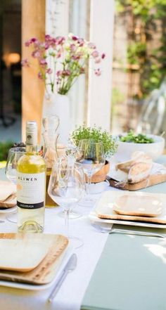 Spring entertaining...
