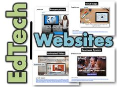 *  This resource contains a collection of educational technology websites divided into categories*  I have successfully utilized all of these amazing websites with my classes to enhance learning*  Links to lessons for how to use each of the websites are located at the bottom of each of the slidesTOPICS1.Presentations (Prezi, Haiku Deck)2.Multi-Media Posters (Glogster)3.Blogs (Kidblog)4.Mind Maps (Popplet, Slatebox)5.Online Response System (GetKahoot)6.Comics (Bitstrips, Comic Life)7.Writing…
