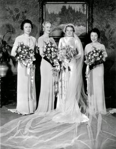 In the Depression years, wealthy Cleveland brides-to-be attended bridal fashion shows and dressed like Hollywood stars on their wedding day....