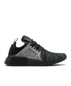new style bd930 e3634 Chaussure Adidas NMD XR1 Noir Gris Rouge S76851