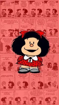 Wallpaper. Mafalda.