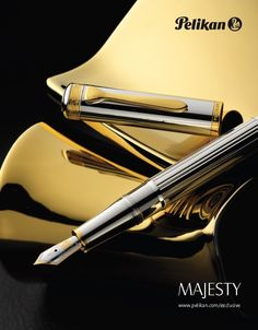 Pelikan Majesty Gold Fountain Pen