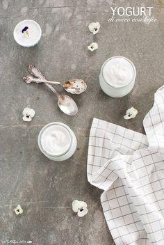 Coconut yogurt with water kefir - Yogurt di cocco con kefir d'acqua