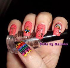 Nails by Malinka: Indiaan - Indian