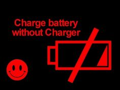 Charge Battery Without Charger Techno, Charger, Youtube, Techno Music, Youtubers, Youtube Movies