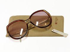cd9c18f595 Vintage Nina Ricci sunglasses - model 77 - 80s French designer glasses in  New Old Stock condition