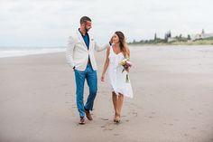 Summer Elopement Dresswear © Liz Cowie Photography - http://www.lizcowiephotography.com #BCBG #Summerwedding #Elopement #BeachWedding #SimpleWedding